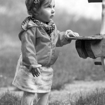 fotografie bambini giardino