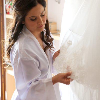 sposa con vestito